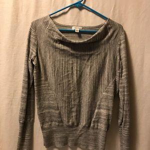 Calvin Klein drop front sweater top